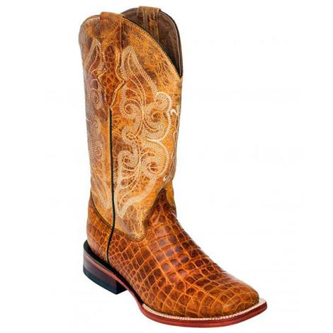 Ferrini Honey Crocodile Print Women's Boots