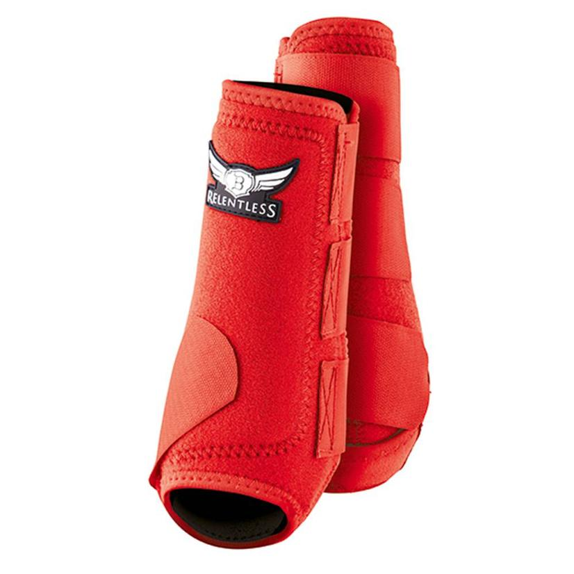 Cactus Relentless All-Around Front Sport Horse Boots RED