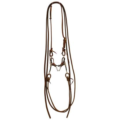 STT Bridle w/Loose Cheek Snaffle Bit