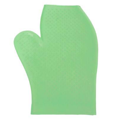 Rubber Massage Glove LIME