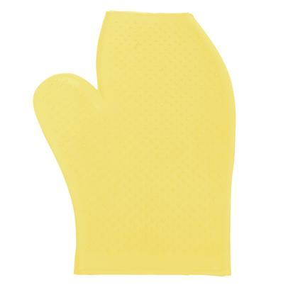 Rubber Massage Glove YELLOW