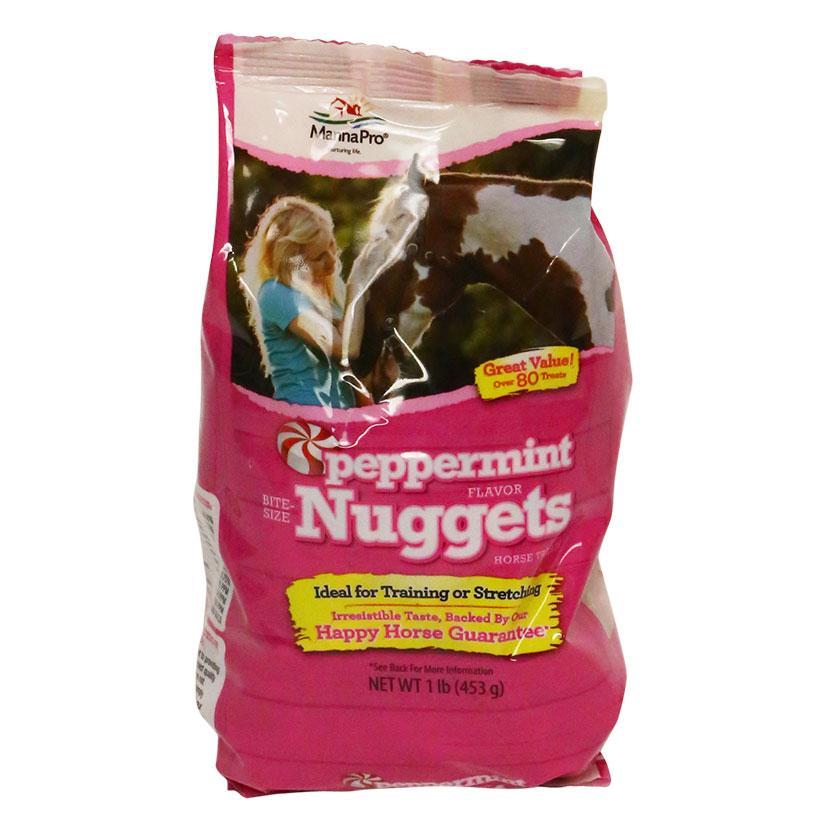Peppermint Bite Size Nuggets 1 Lb