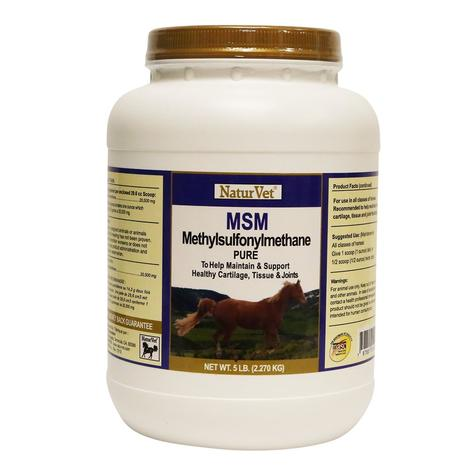 NaturVet MSM Pure Powder 5 lb