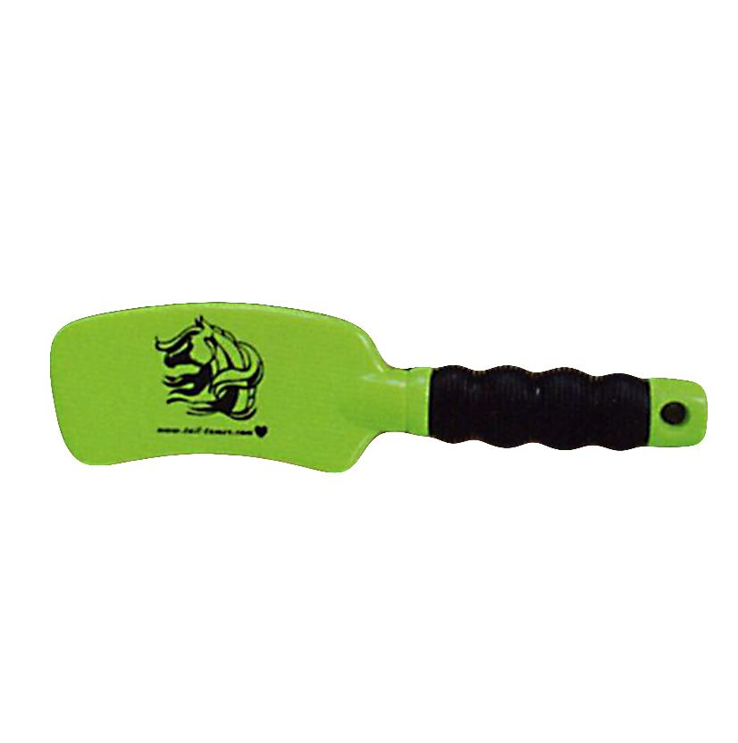Tail Tamer Curved Tail Brush LIME