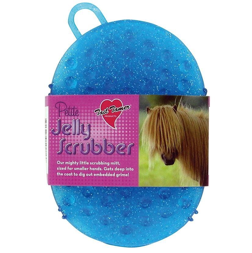 Tail Tamer Petite Jelly Scrubber TURQUOISE