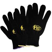 Cactus Ropes Black Cotton Roping Gloves - Single