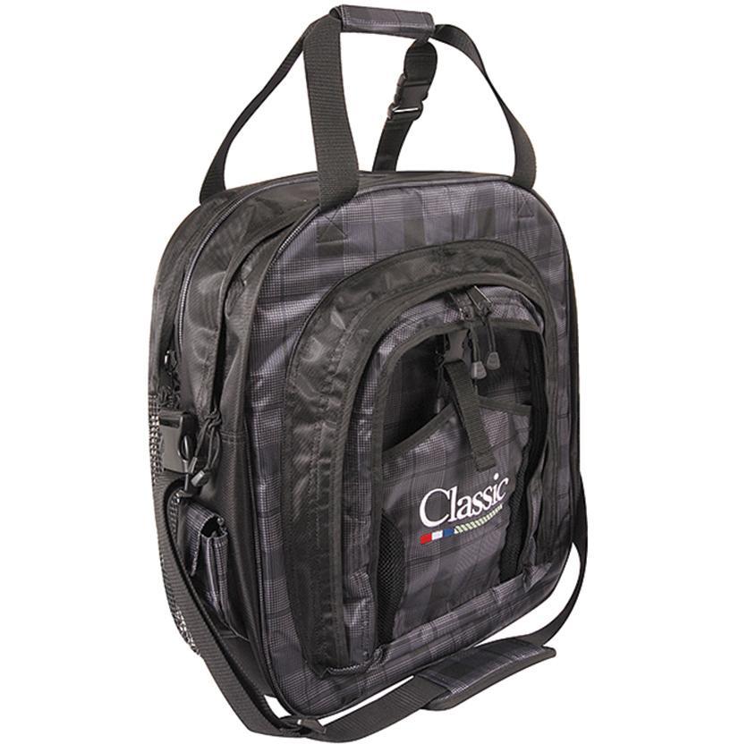 Classic Super Deluxe Rope Bag BLACK_PLAID