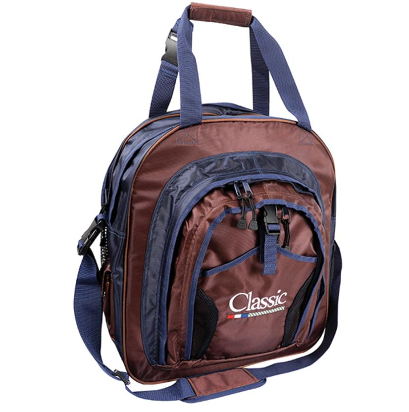 Classic Super Deluxe Rope Bag NAVY/CHOC