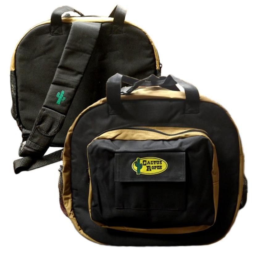 Cactus Ropes Choice Plus Bag BLACK/TAN