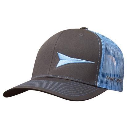 Fast Back Columbia Blue Mesh Snapback Cap