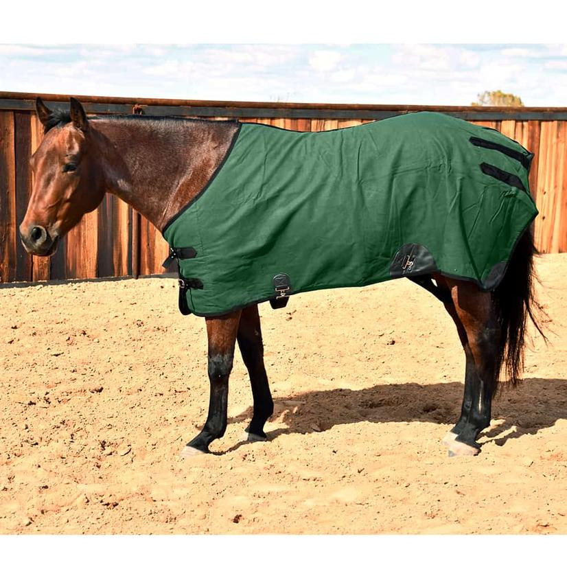 mustang canvas water resistant turnout blanket