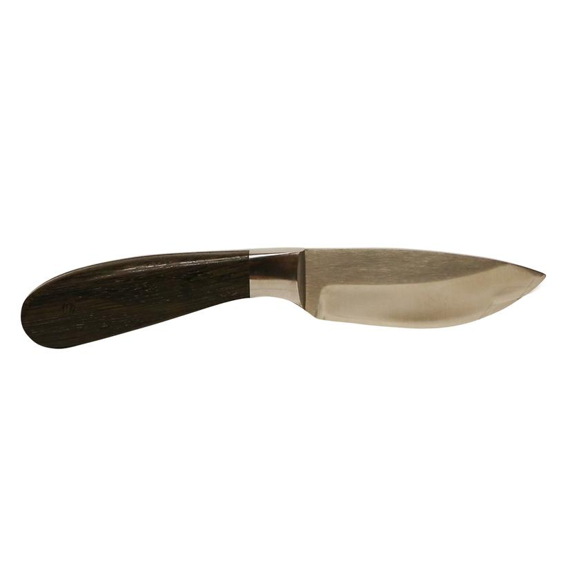 Carson Skinner Fixed Blade Knife with Bog Wood