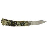 "Camo Lockback Pocket Knife 3 """