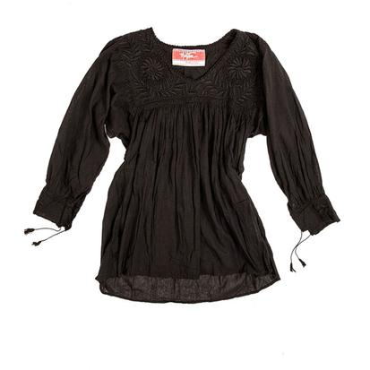 Blusa Blanca Blouse BLACK