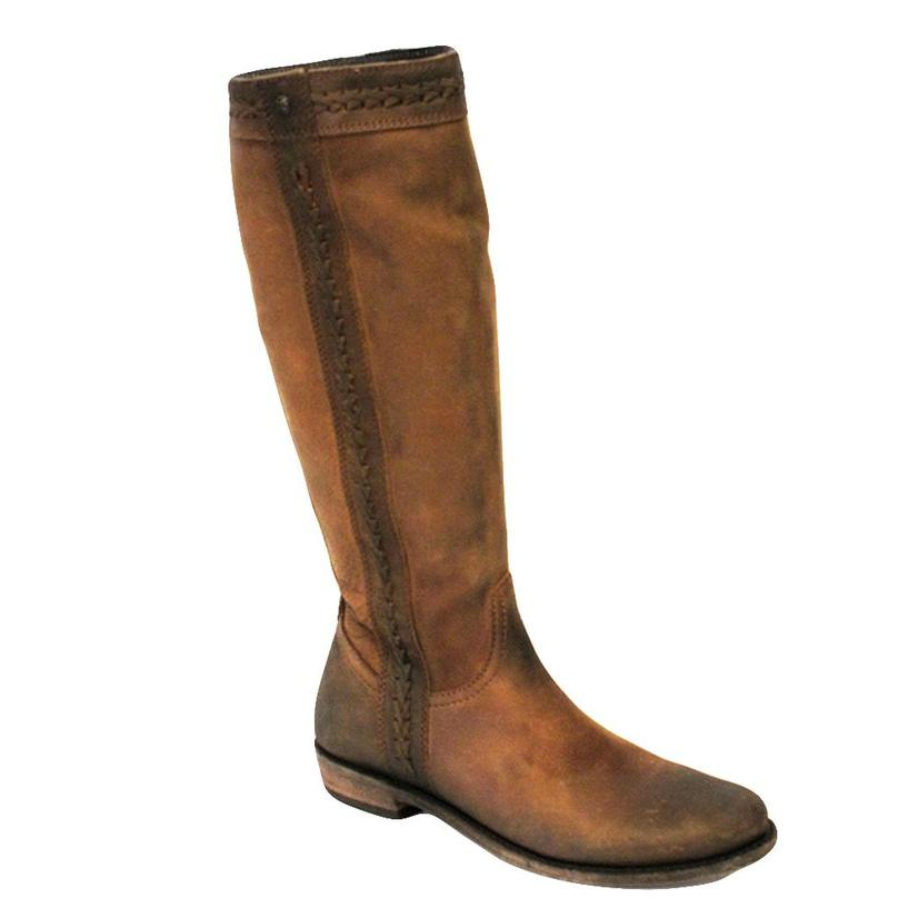 Liberty Black Ride Tall Brown Leather Boots