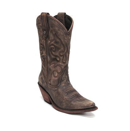 Liberty Black Vintage Canela Cowgirl Boots