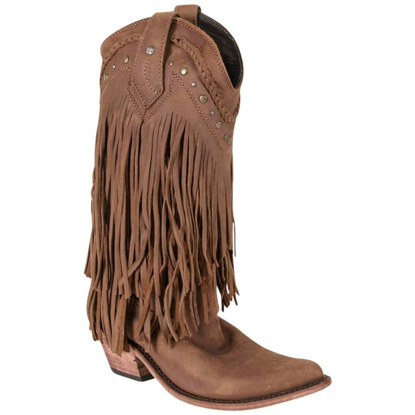 Liberty Black Fringe For One, One For All - Brown