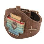 Johnny Loves June Serape Cross Cuff