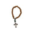 Saddlewood Cross Charm Bracelet