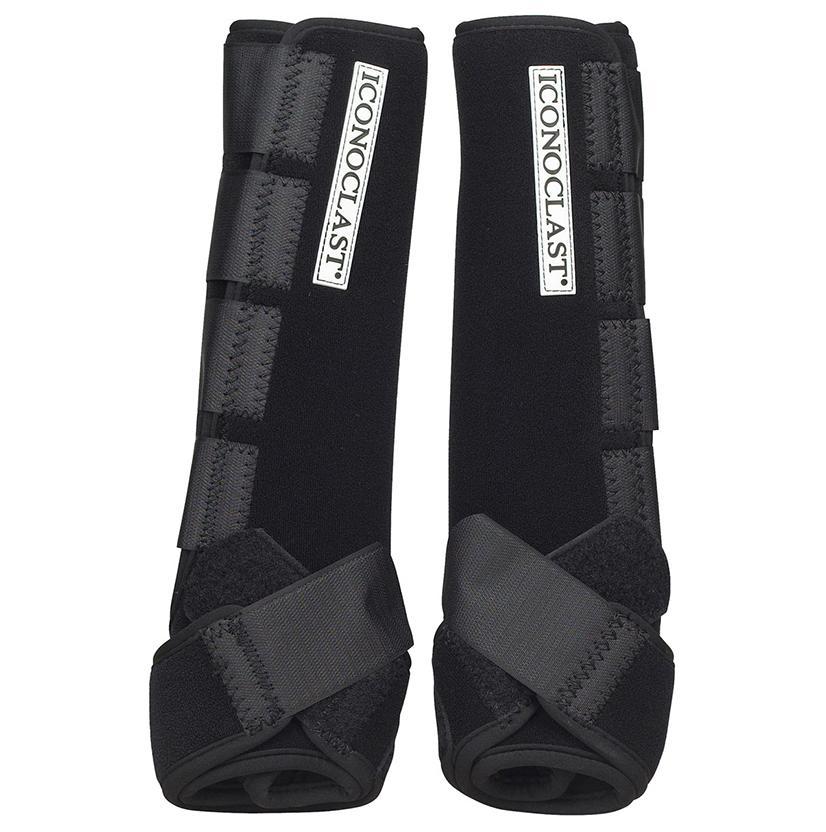 Iconoclast Extra Tall Hind Orthopedic Sport Boots XL BLACK