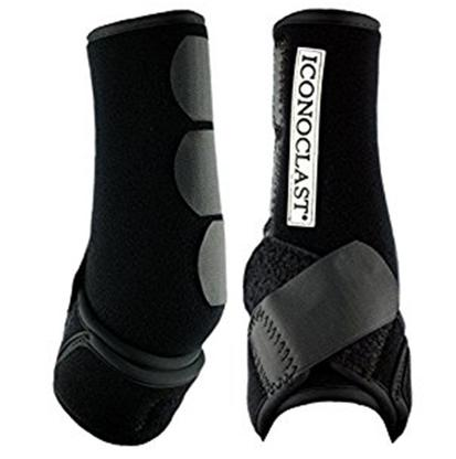Iconoclast Orthopedic Sport Boots Front BLACK