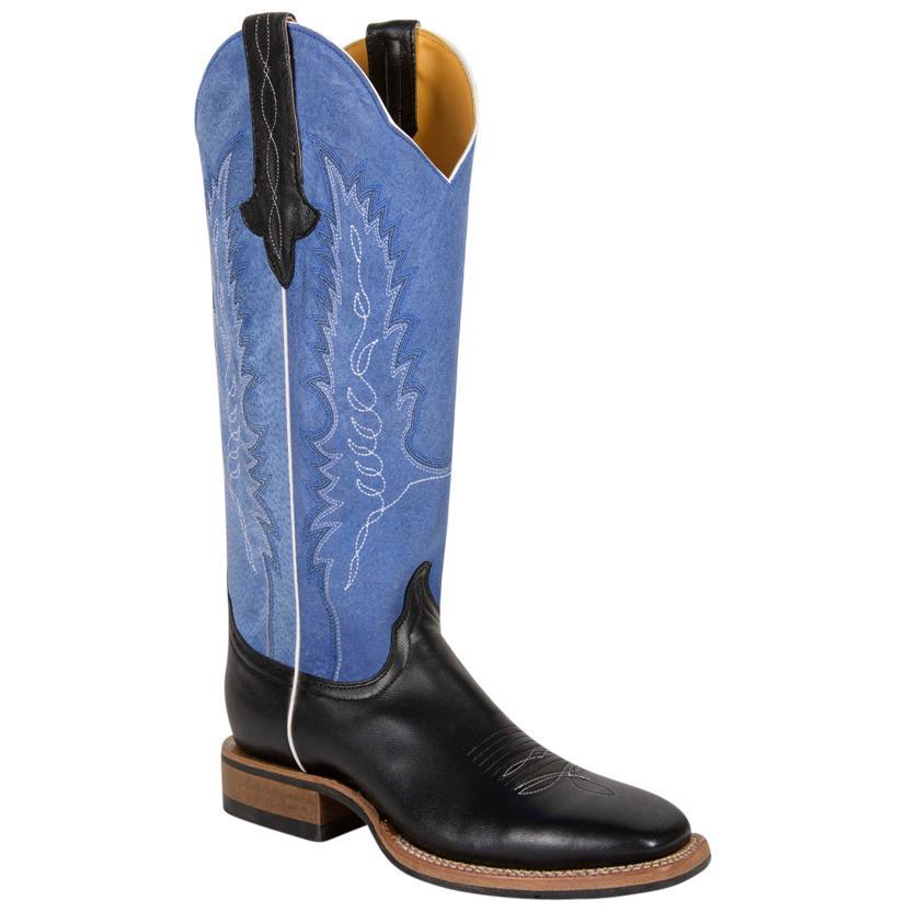 Women's Cinch Square Toe Boots W/Rubber Sole