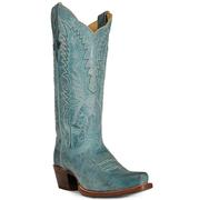 Women's Mad Dog Blue Cinch Boots
