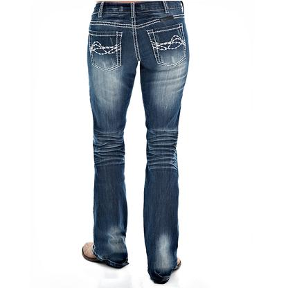 Cowgirl Tuff Womens Edgy Jeans