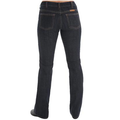 Cowgirl Tuff Womens Just Tuff Dark Jeans