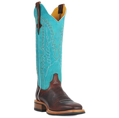 Women's Cinch Square Toe Boots W/Rubber Sole