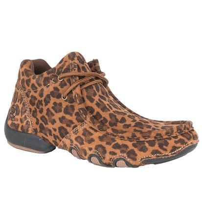 Roper Womens Leopard Chukka