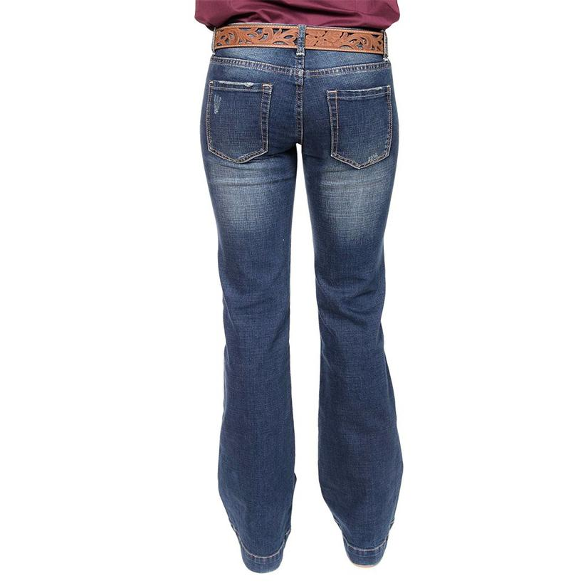 Stt Womens Distressed Trouser