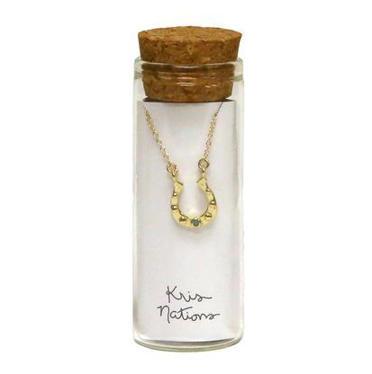 Kris Nations Horseshoe Necklace