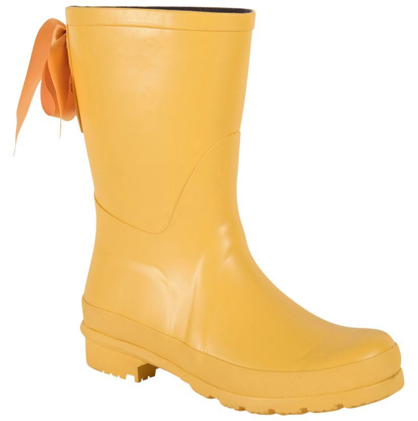 Lemon Rubber Rain Boots