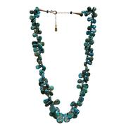 Chelsea Collette Womens Petals of Turquoise Necklace