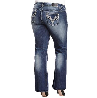 Vigoss Women's Dublin Plus Boot Jean