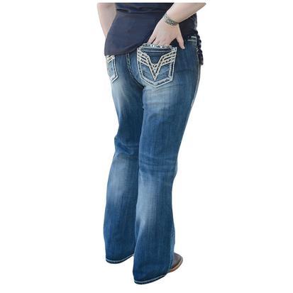 Vigoss Womens Dublin Regular Boot Cut Jean