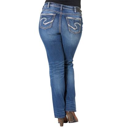 Styled In Silver Bootcut Jeans
