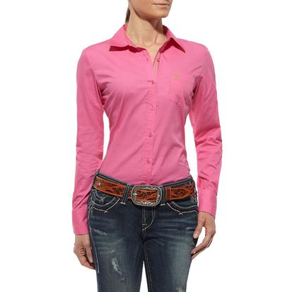 Ariat Womens Kirby Shirt - Pink