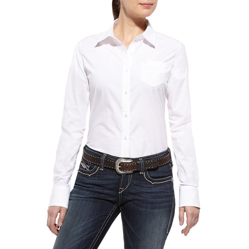Ariat Womens Kirby Shirt - White