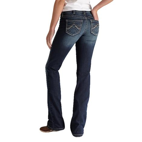 Ariat Real Riding Jean Spitfire Midrise Bootcut