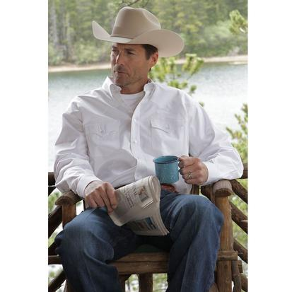 Miller Ranch Western Shirt - White