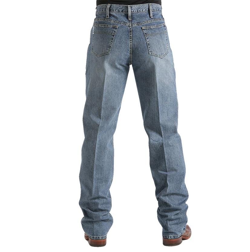Cinch Mens White Label Relaxed Fit Jean - Light Wash