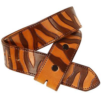 Tooled Zebra Belt