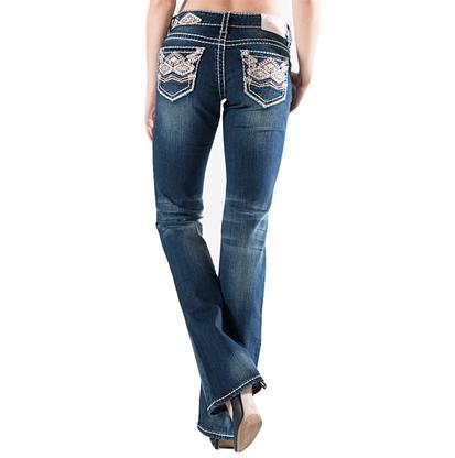 Charme Jeans w/Tribal Stitching