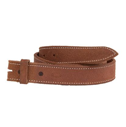 Solid Roughout Leather Belt