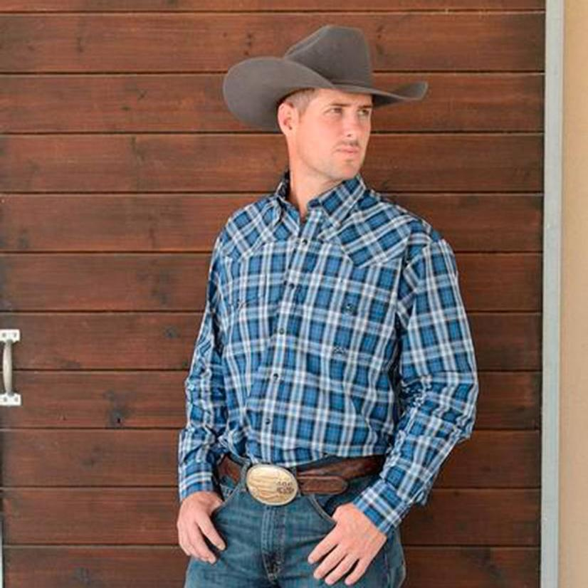 Miller Mens Western Snap Shirt