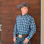 Miller Mens Western Snap Shirt