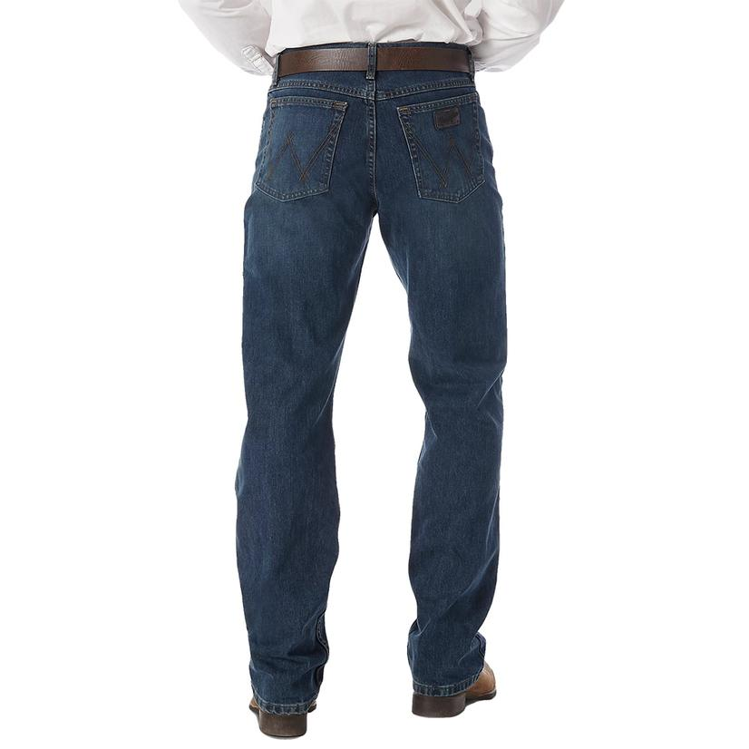 Wrangler Mens 20x- 01 Competition Jean River Wash