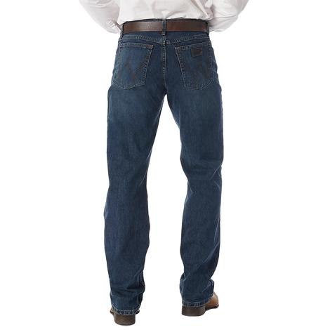 Wrangler Mens 20X-01 Competition Jean River Wash